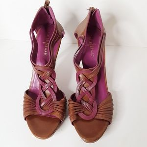 Nike Air by Cole Haan High Heel Sandals Sz 9&1/2